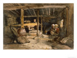 Turkish Mill, Chikaey Giclee Print by William James Muller