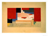 Suprematism, 1919 Giclee Print by Kasimir Malevich