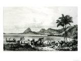 Lagoa Das Tretas Giclee Print by Victor Jean Adam