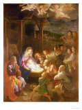 The Nativity at Night, 1640 Giclée-Druck von Guido Reni