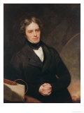 Portrait of Michael Faraday Giclee Print by Thomas Phillips