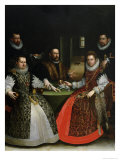 The Gozzadini Family Giclee Print by Lavinia Fontana