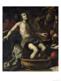 The Death of Seneca, 1633 Giclee Print by Claude Vignon
