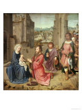 Adoration of the Kings, 1515 Giclee Print by Gerard David