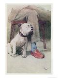 Bulldog Giclee Print by Cecil Aldin