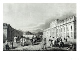 The Mint of Santiago, from Travels Into Chile over the Andes in the Years 1820 and 1821 Giclee Print by George Snr Scharf