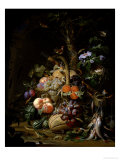 Still Life of Fruit Giclee Print by Abraham Mignon