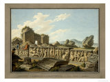 Roman Remains at Ephesus, 1797 Giclee Print by Gaetano Mercati