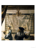 The Artist's Studio, c.1665-66 Giclee Print by Jan Vermeer