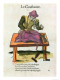 The Tailor Giclee Print by Jean Leclerc