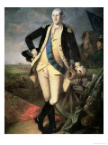 General George Washington Giclee Print by James Peale