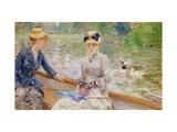 Berthe Morisot - Summer's Day, 1879 - Giclee Baskı