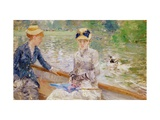 Summer's Day, 1879 Giclee Print by Berthe Morisot