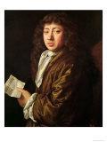 Portrait of Samuel Pepys Giclee Print by John Hayls