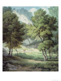 Kerswell, Devon Giclee Print by John White Abbott