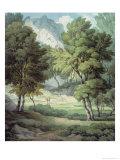 Kerswell, Devon Giclee Print by John White Abbott