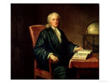 Portrait of Isaac Newton Giclee Print by Enoch Seeman