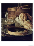 Still Life. the Snack Giclee Print by Luis Egidio Melendez