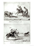 Methods of Bolas & Lassos, South America, Giclee Print
