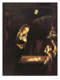The Nativity at Night Giclee Print by Geertgen tot Sint Jans