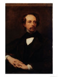 Portrait of Charles Dickens Giclee Print by Ary Scheffer