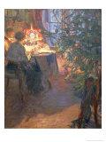 Christmas Tree, 1921 Giclee Print by Alexander Viktorovich Moravov