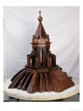 Model of the Cupola Atop the Duomo Giclée-tryk af Filippo Brunelleschi