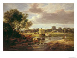 Trowse Meadows, Near Norwich, 1828 Giclée-Druck von George Vincent