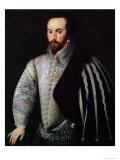 Portrait of Sir Walter Raleigh Giclee Print