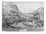 Mountainous Landscape Giclee Print by Agostino Carracci