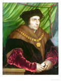 Portrait of Sir Thomas More Giclee Print by Hans Holbein the Younger