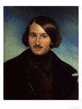 Portrait of Nikolay Gogol, 1841 Giclee Print by Fyodor Antonovich Moller