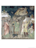 Moses on Mount Sinai, 1356-67 Giclee Print by Also Manfredi De Battilori Bartolo Di Fredi