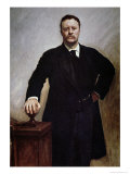 Theodore Roosevelt Giclee Print by John Singer Sargent