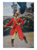 Pirate Chief Giclee Print by Howard Pyle