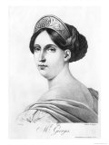 Mademoiselle George, 1825 Giclee Print by Philippe Chery
