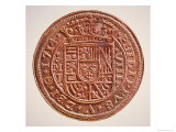 Spanish Gold Doubloon, Looted by Pirates, 1714 Giclee Print