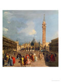 Piazza San Marco, Venice, c.1760 Giclee Print by Francesco Guardi