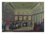 Reception of General Aubert-Dubayet by the Grand Vizier of the Sultan in Constantinople, 1796-7 Giclee Print by Antoine-laurent Castellan