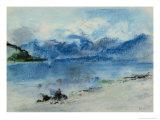Lake Maggiore Giclee Print by Hercules Brabazon Brabazon