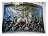 The Robert Gould Shaw Giclee Print by Augustus Saint-gaudens