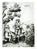 Apollo and Pan Giclee Print by Bartolomeo Montagna