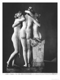 Three Graces, 1812-16 Giclee Print by Antonio Canova