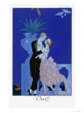 Yes! 1921 Giclee Print by Georges Barbier