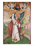 St. Michael Weighing the Souls at the Last Judgement, c.1500 Giclee Print by Master Of The Zurich Carnation 