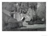 Villa D'Este, Tivoli Giclee Print by Hercules Brabazon Brabazon