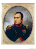 Portrait of Napoleon I Giclee Print by Antoine Charles Horace Vernet