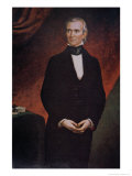 James Knox Polk Giclee Print by George Peter Alexander Healy