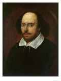 Portrait of William Shakespeare Giclee Print by John Taylor