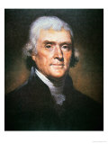 Thomas Jefferson Giclee Print by Rembrandt Peale